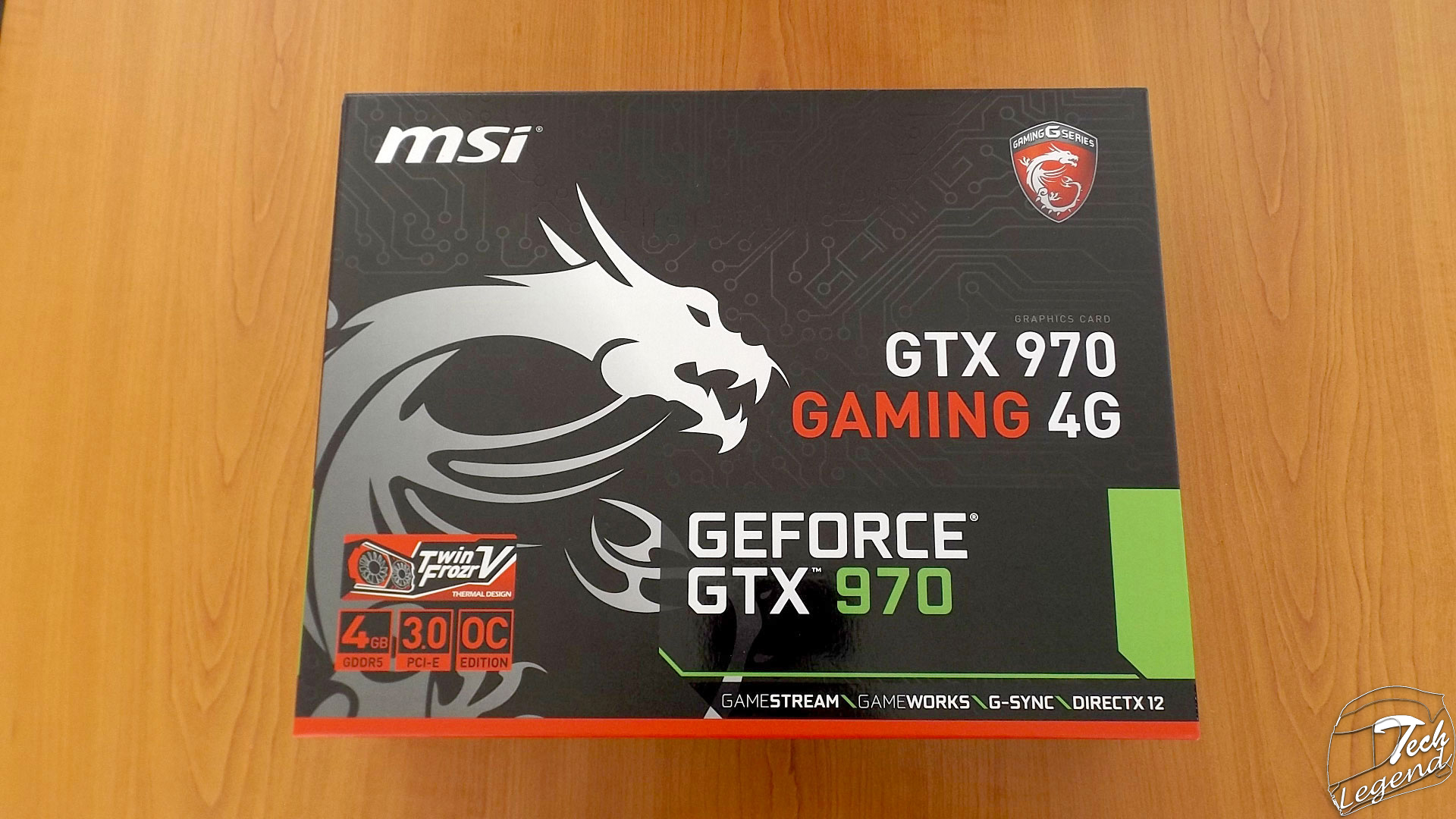 MSI GeForce GTX 970 Gaming 4GB + MSI SLI Bridge