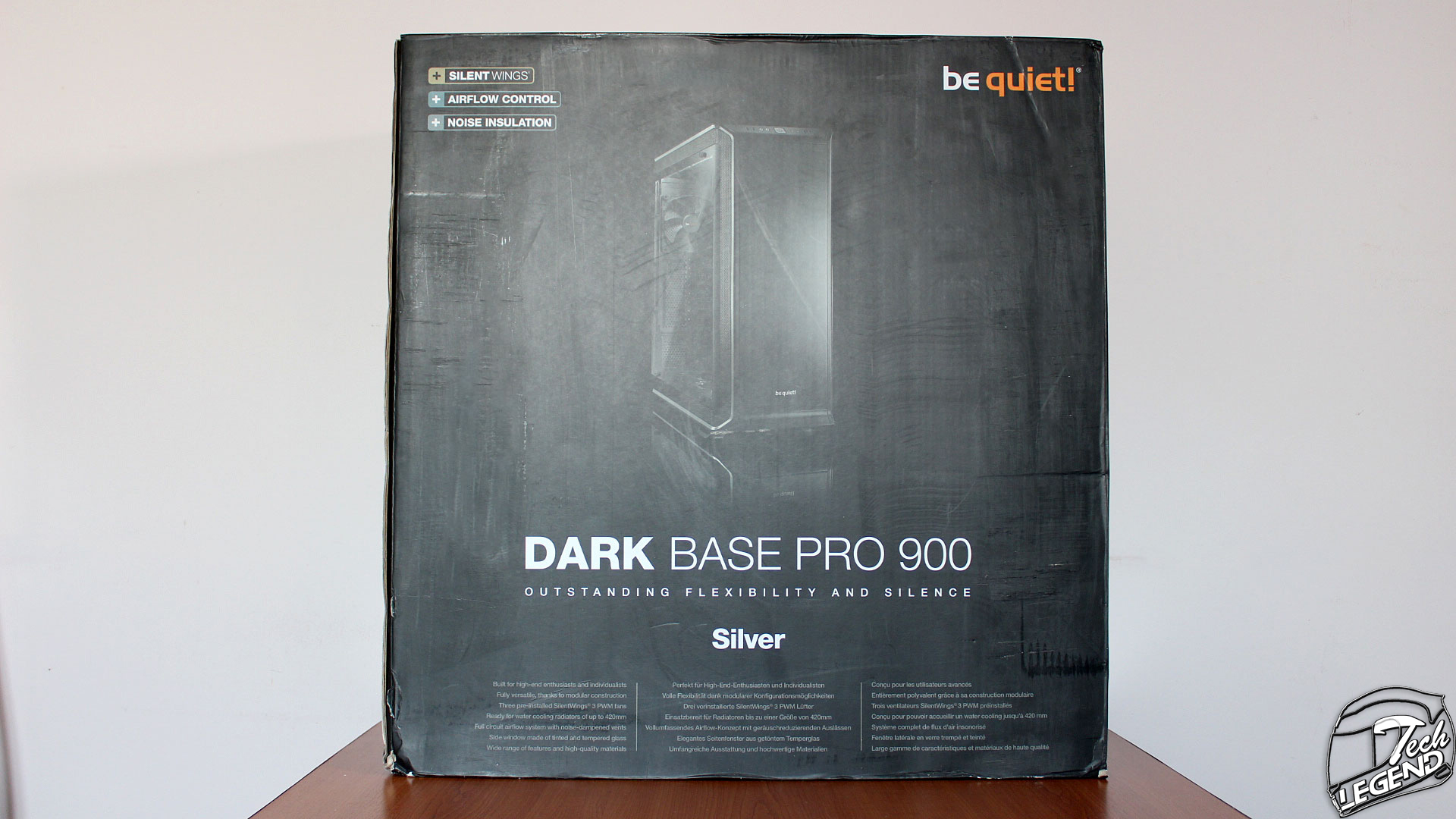 be quiet the dark base pro 900 silver modular case review
