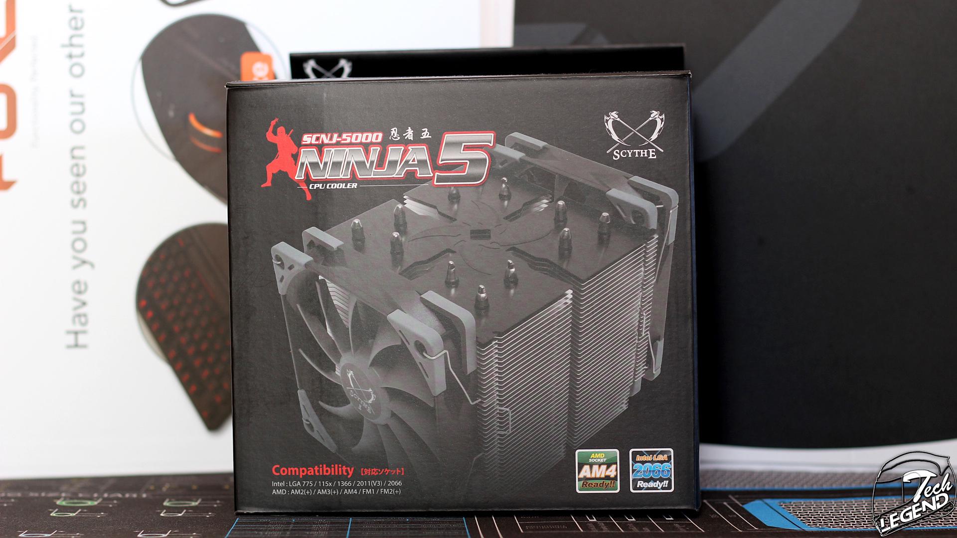 Scythe Ninja 5   Dual Fan CPU Cooler Review