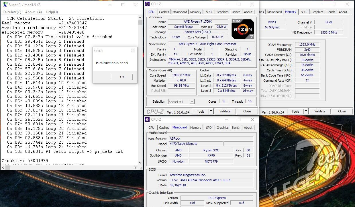 ASRock X470 Taichi Ultimate | AMD Overclocking Motherboard