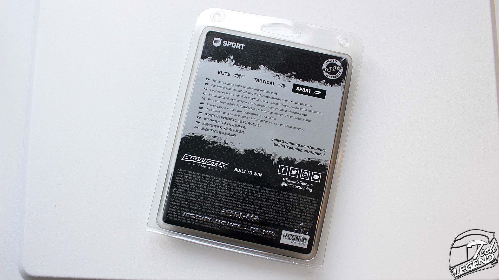 Ballistix Sport LT Gray 16GB DDR4-3000 | Review