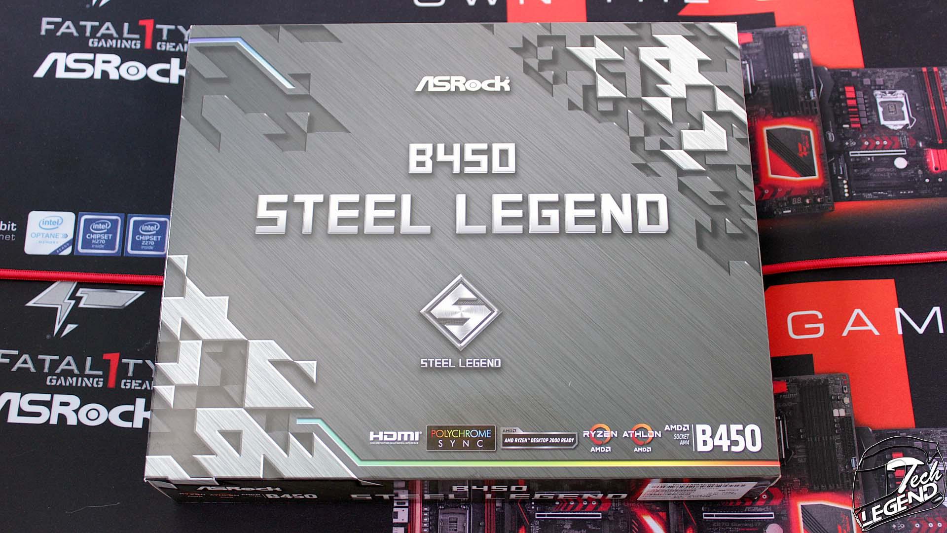 ASRock B450 Steel Legend - Motherboard Review